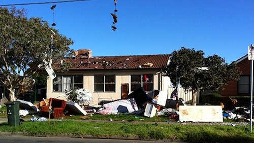 A Sofa on the Roof... and Other Trashed Rental Homes
