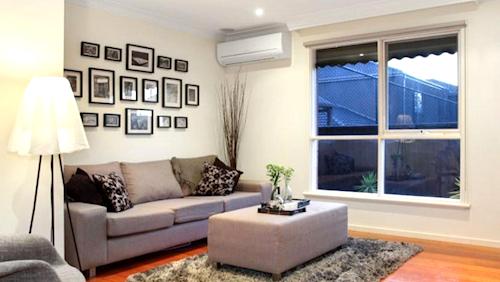 The lounge at unit 4, 26 Emma Street, Caulfield South