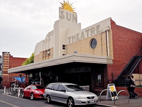 Sun Theatre in Yarraville