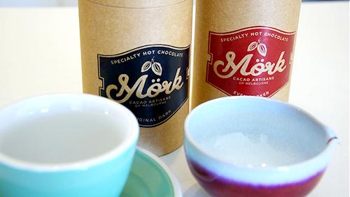 Mork hot chocolate