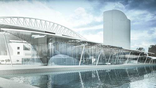 Concept for the Docklands Aquatic Centre