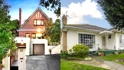 East Vs West - Toorak and Sunshine Top House Price Growth