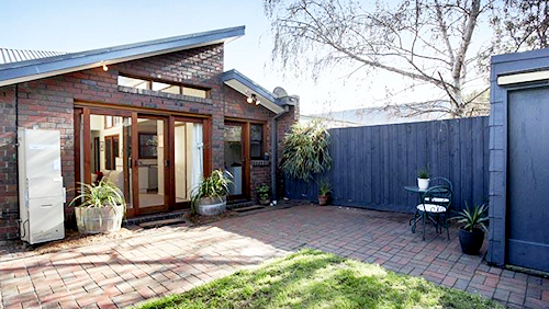 The Backyard at 2 Bolton Street, Spotswood