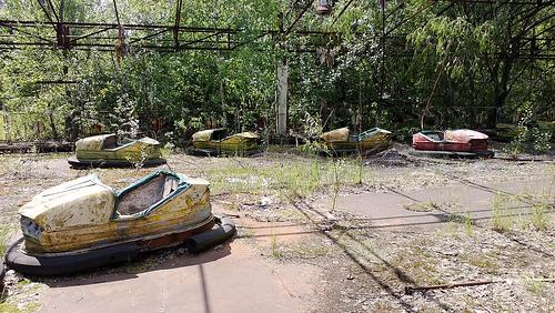 Pripyat abandoned fairground