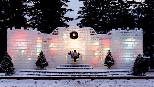 The Eagle River Ice Palace