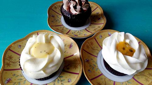 Cupcakes at Sugar Puff