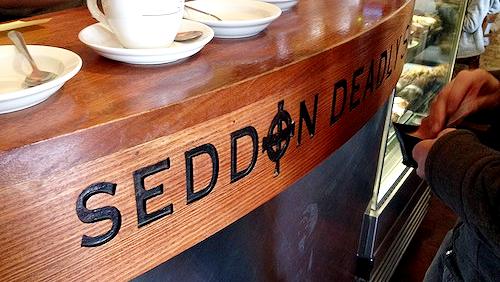 Enjoy a coffee at Seddon Deadly Sins