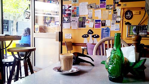 Inside Feedback Cafe