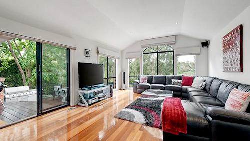 The living space at 116 Buckingham Drive, Heidelberg