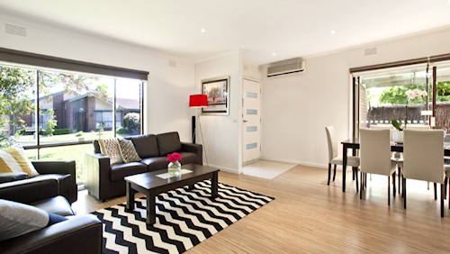 The living space at 20 Everest Drive, Cheltenham