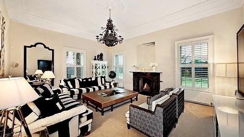Inside Shane Warne's mansion