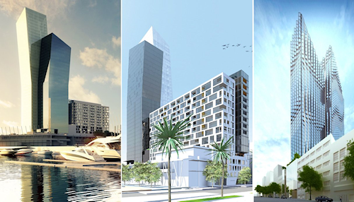 Hiap Hoe's intended projects at Docklands and 380 Lonsdale Street