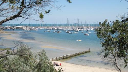 View towards Sandringham Boat Harbour