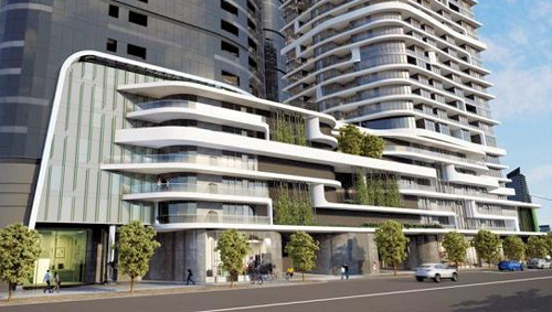 A Meinhardt project - 60-82 Johnson Street, South Melbourne located within Fishermans Bend
